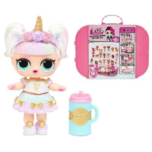 L.O.L. Surprise! Fashion Show On-The-Go & Sparkle Series Doll. (Photo: Walmart)