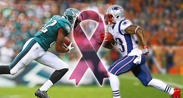 The NFL is doing its part for cancer. (Photo: Getty Images)