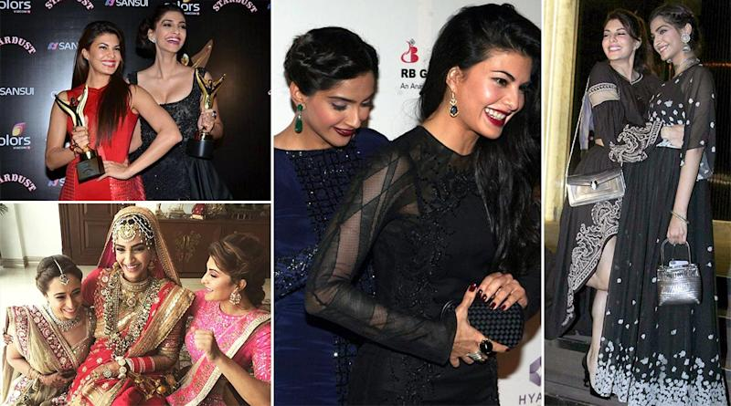 Friendship Day 2020 - Sonam Kapoor and Jacqueline Fernandez