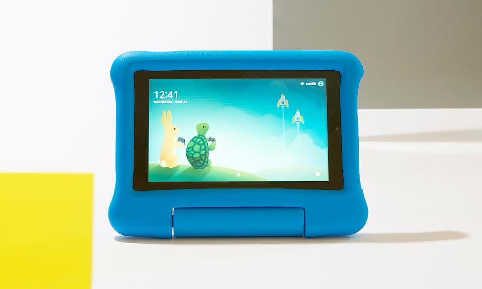 Amazon Fire 7 Kids Pro for Engadget's 2021 Back to School guide.