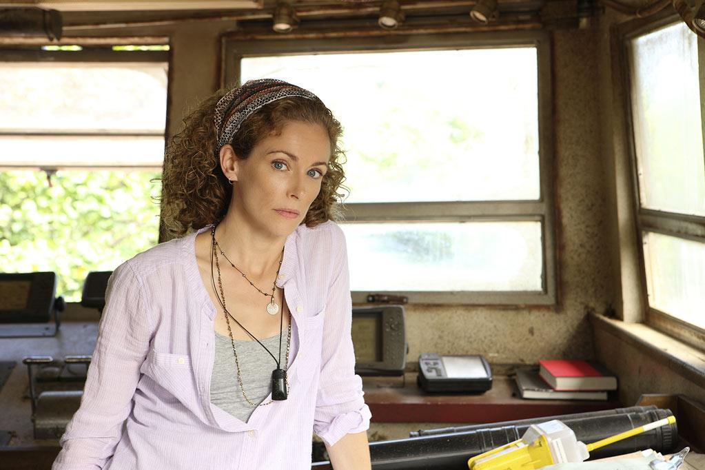 "Leslie Hope stars as Tess Cole in ""The River."""