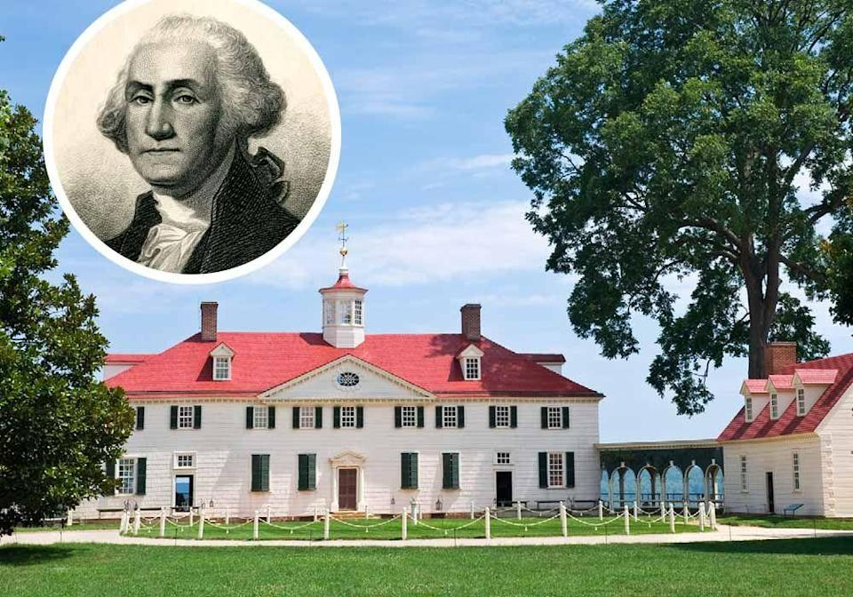 """<p>The only known surviving elevation sketch of George Washington's <strong><a href=""""https://www.mountvernon.org/"""" rel=""""nofollow noopener"""" target=""""_blank"""" data-ylk=""""slk:Mount Vernon"""" class=""""link rapid-noclick-resp"""">Mount Vernon</a> </strong>was executed in his own hand, reportedly created by consulting English pattern books and following neoclassical principles.</p>"""