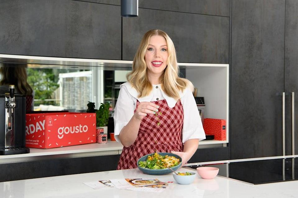 The news came as Gousto launched 'Flavourlust',  a two-day travel and food event in London hosted by comedian Katherine Ryan and presenter Nick Grimshaw (Gousto)