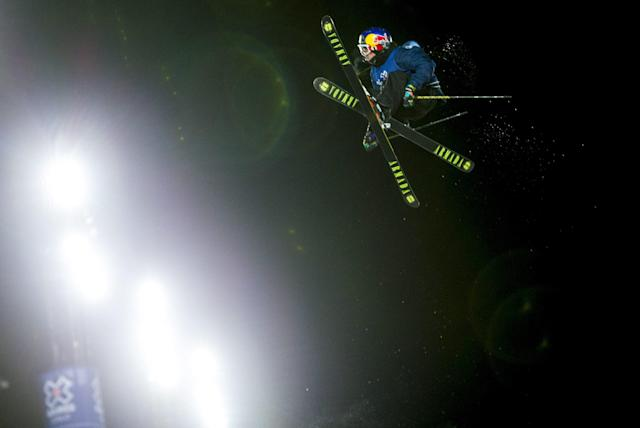 Torin Yater-Wallace from the U.S. at the Men's Ski SuperPipe event at the X Games Oslo 2016, February 28, 2016. REUTERS/Vegard Wivestad Grott/NTB Scanpix ATTENTION EDITORS - THIS IMAGE WAS PROVIDED BY A THIRD PARTY. FOR EDITORIAL USE ONLY. NOT FOR SALE FOR MARKETING OR ADVERTISING CAMPAIGNS. THIS PICTURE IS DISTRIBUTED EXACTLY AS RECEIVED BY REUTERS, AS A SERVICE TO CLIENTS. NORWAY OUT. NO COMMERCIAL OR EDITORIAL SALES IN NORWAY. NO COMMERCIAL SALES.
