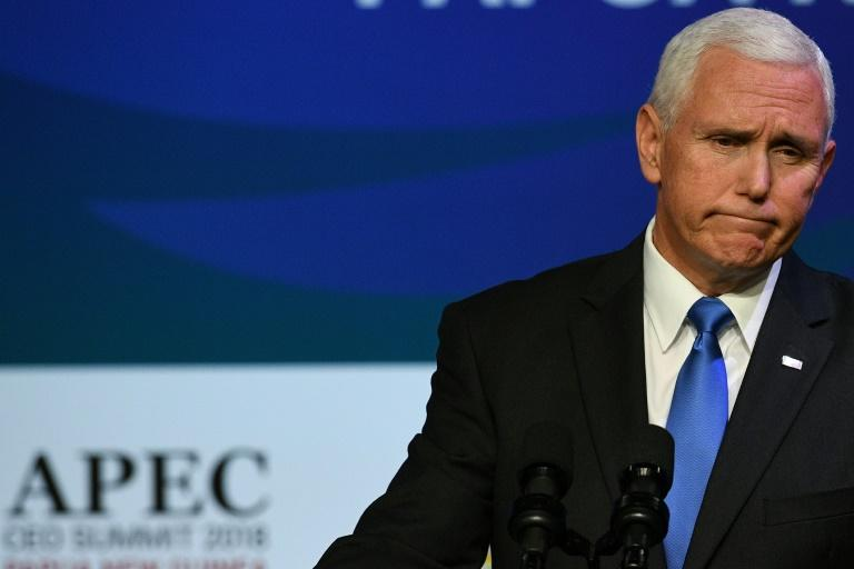 US Vice President Mike Pence stressed that Washington wanted a 'better relationship' with Beijing