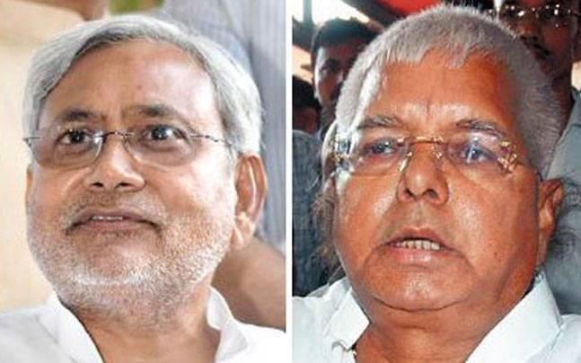 Nitish's JD-U distances itself from Lalu Yadav on benami property controversy