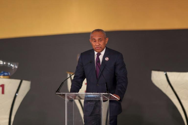 Standing again: Ahmad Ahmad, President of the Confederation of African Football