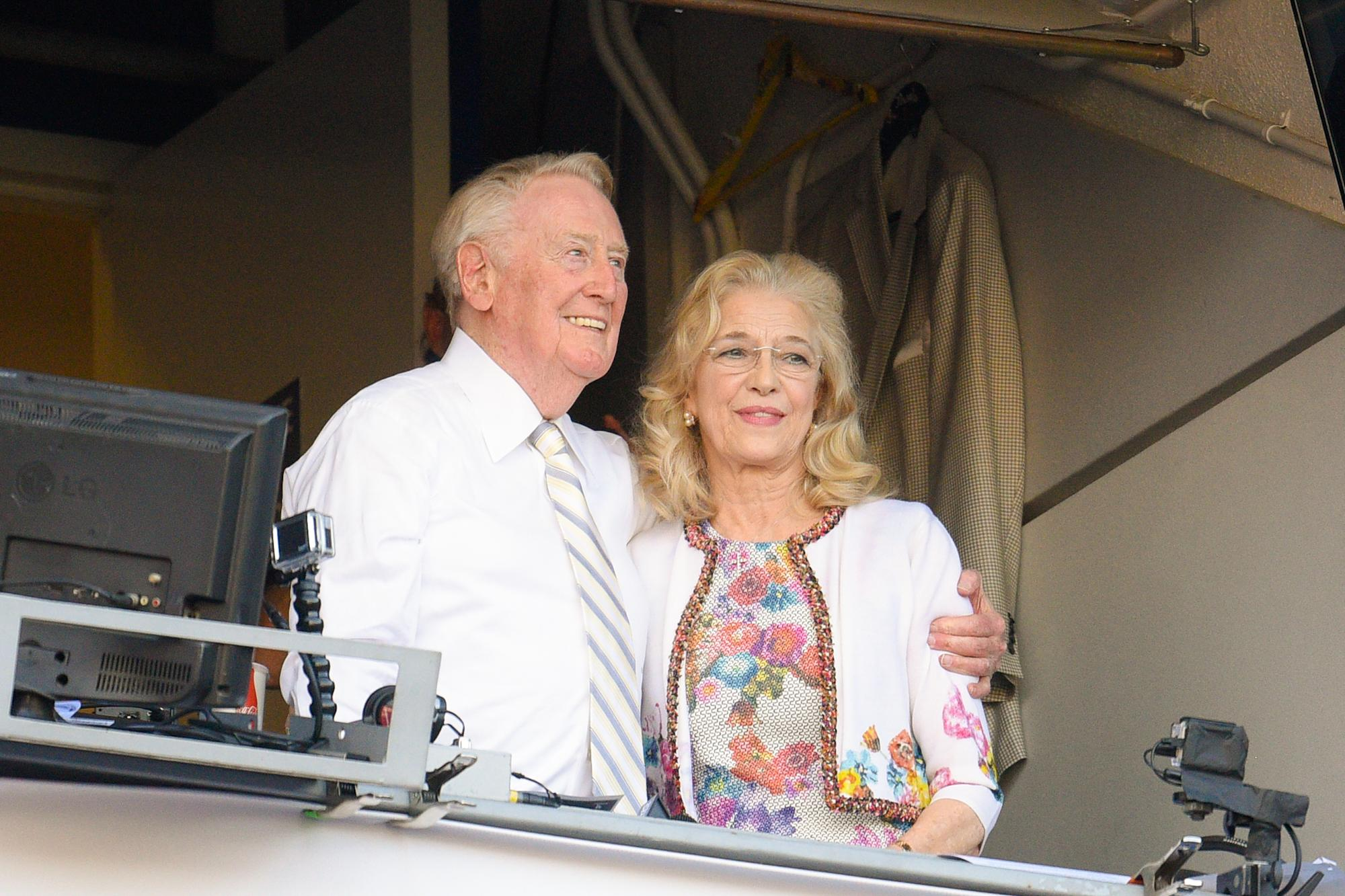 au.finance.yahoo.com: Sandra Scully — wife of Dodgers icon Vin Scully — dies after battle with ALS
