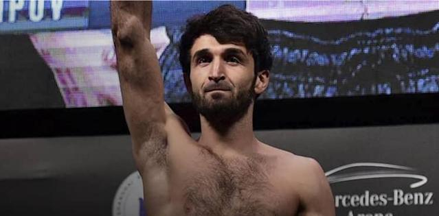 Zabit Magomedsharipov UFC Moscow weigh-in