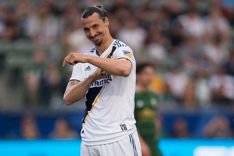 It will take more than Zlatan Ibrahimovic's goals to get the Galaxy back the the playoffs for the first time in thee seasons. (Reuters)