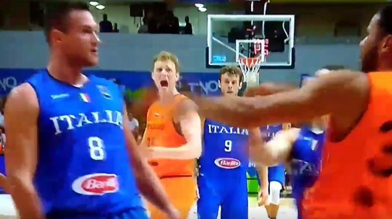 Watch: Danilo Gallinari Injures Thumb After Punching Opponent's Face