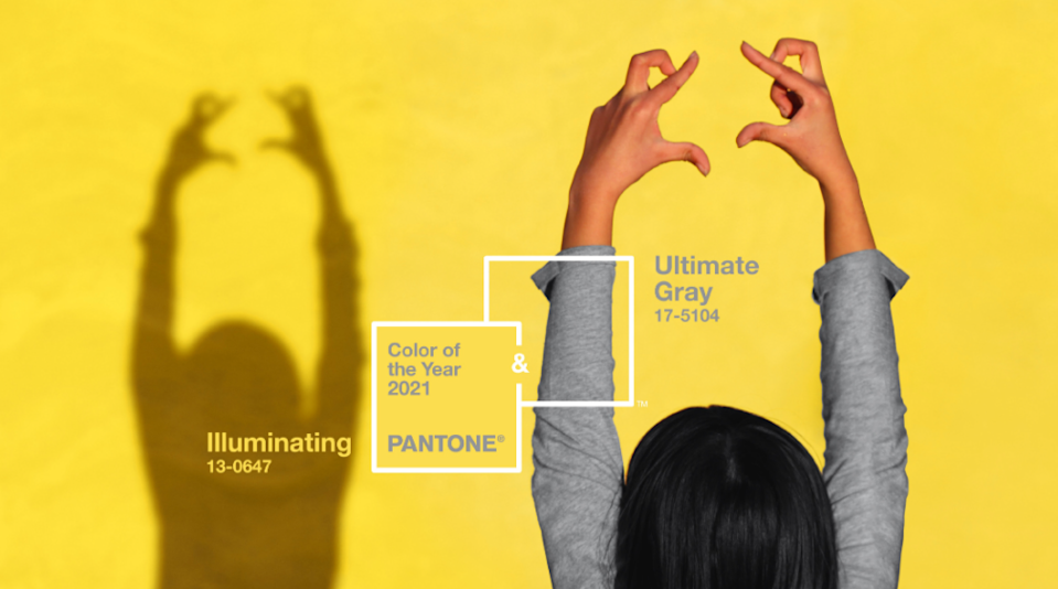 Pantone announced two colours for 2021
