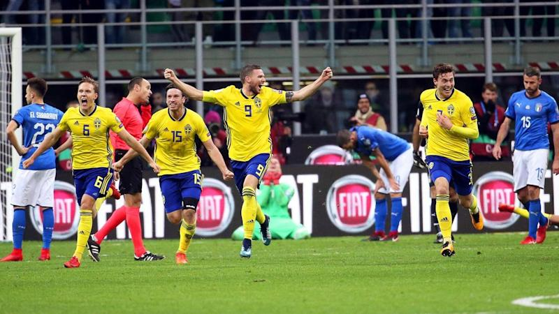 The pleasure of WC qualification for Sweden and pain of failure for Italy was evident in Milan