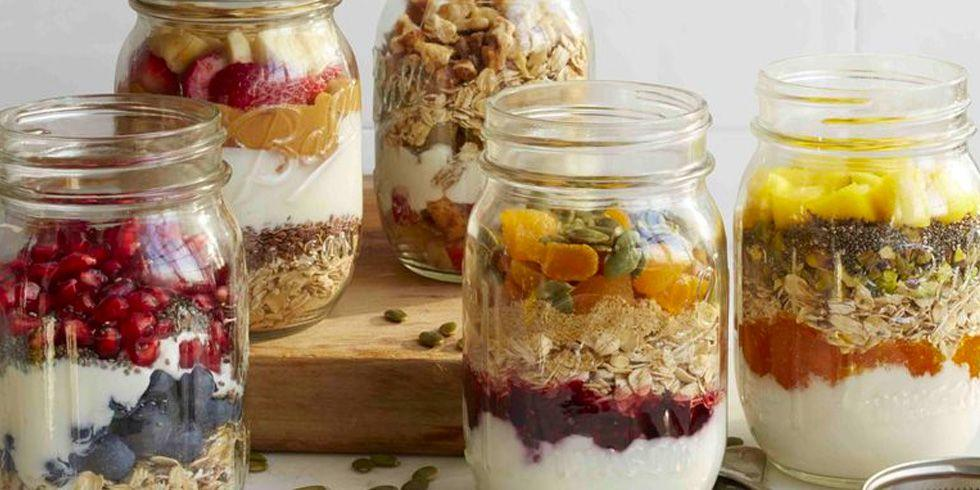 """<p>When you're super tired and groggy after waking up, the <em>last</em> thing you want to do is spend an hour <a rel=""""nofollow"""" href=""""https://www.womansday.com/food-recipes/food-drinks/g22887020/breakfast-ideas-with-eggs/"""">making breakfast</a>. These options  -  which you can either make on the spot or in advance to save <em>even more</em> time  -  will definitely <a rel=""""nofollow"""" href=""""https://www.womansday.com/food-recipes/food-drinks/g1612/healthy-kid-friendly-recipes/"""">make your stomach growl</a>.</p>"""