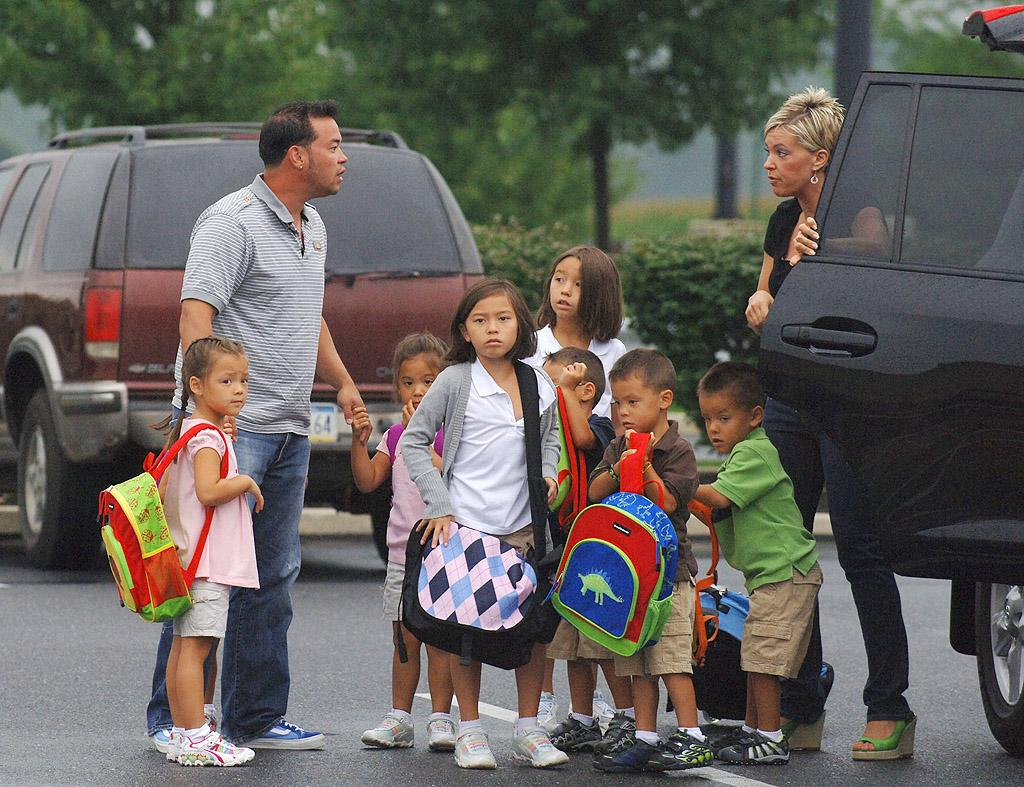"""<p class=""""MsoNoSpacing"""">Jon and Kate Gosselin made a name for themselves simply because they had a ton of kids. After struggling with infertility, the now-exes welcomed twins Madelyn and Cara in October 2000. Wanting just one more child, Kate convinced Jon to do agree to another round of IVF treatments – and in May 2004, she delivered six healthy babies (Aaden, Alexis, Collin, Hannah, Joel, and Leah ), thus giving birth to TLC's """"Jon & Kate Plus 8."""" After five seasons, the couple split in 2009 and she carried on with her own spin-off, """"Kate Plus 8,"""" which has since also gone off the air.</p>"""