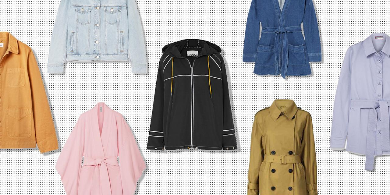 <p>It's raining and too warm for a coat, but too chilly to go without. We've got it covered...</p>