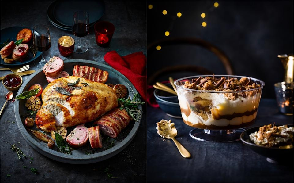 M&S has unveiled its Christmas 2019 food range [Photo: M&S]