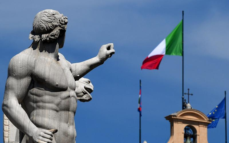 Italy's biggest leftist parties are holding talks to form a coalition - AFP