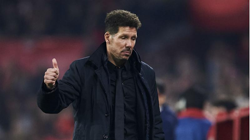 Simeone wary of Wenger and 'very strong' Arsenal in Europa League tie