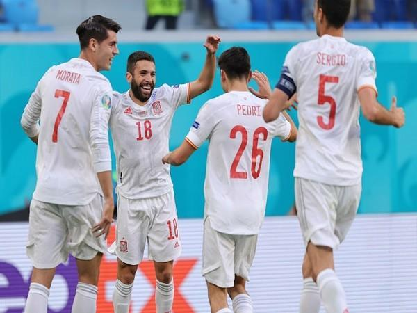 Spain entered semi-finals of Euro Cup on Friday (Image: UEFA Euro 2020's Twitter)
