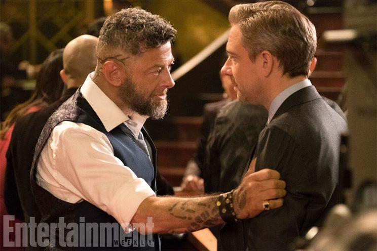 Ulysses Klaue confronts Black Panther pal Everett Ross - Credit: EW/Marvel