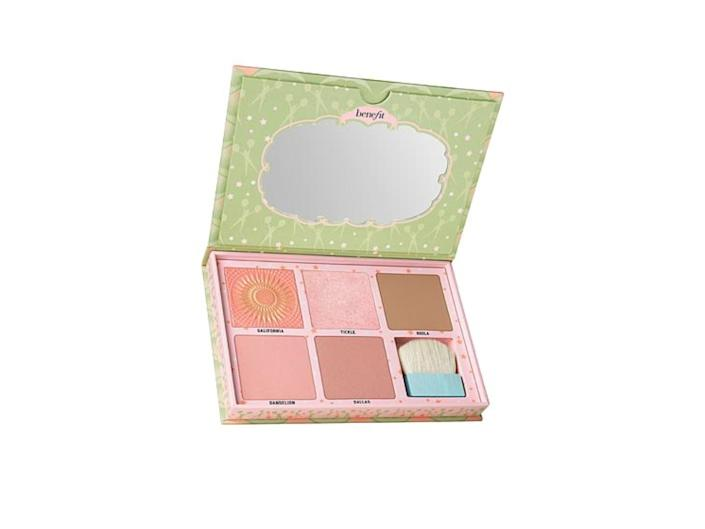 benefit cosmetics cheekleader palette