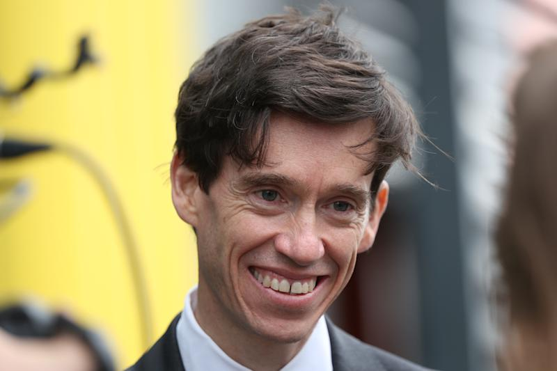 Conservative party leadership contender Rory Stewart arrives at Here East studios in Stratford, east London, ahead of the live television debate for the candidates for leadership of the Conservative party, hosted by Channel 4.