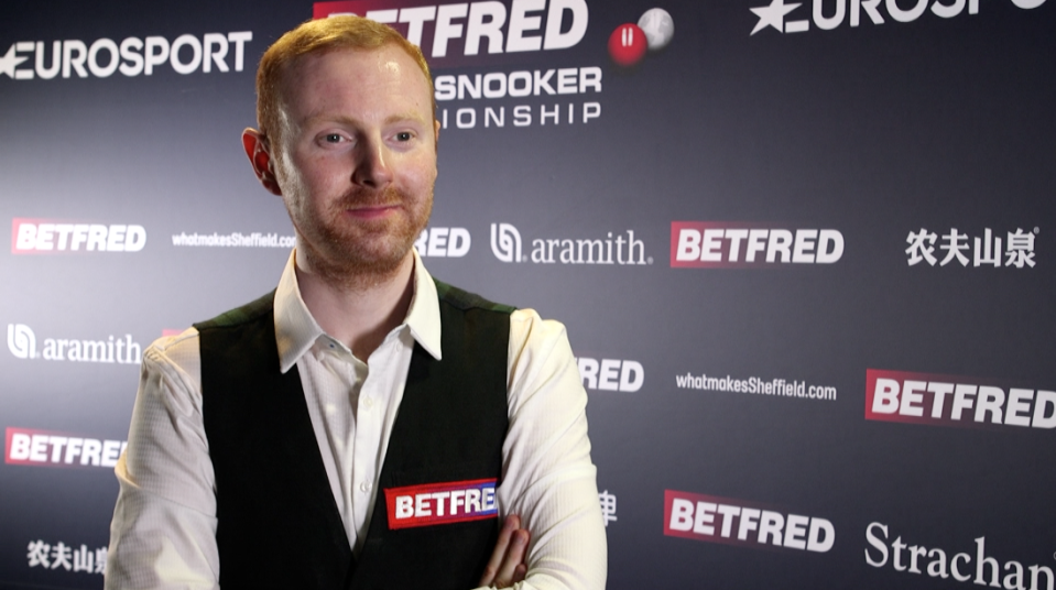 Anthony McGill is into a Triple Crown semi-final for the first time in his career