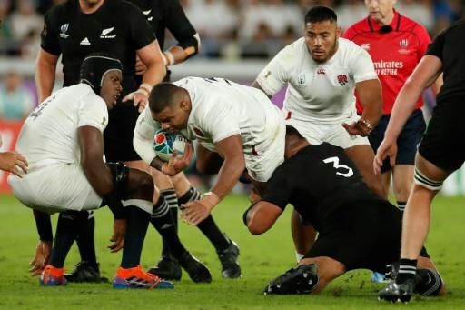 England prop Kyle Sinckler has made more Test appearances than the France front row combined
