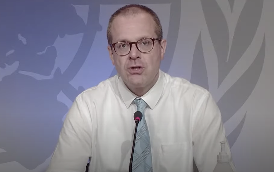 Hans Kluge, regional director of WHO Europe, said the risk of easing restrictions 'has now become a reality'. (WHO Europe)