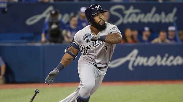 """<p>The quirkiest move of the off-season was the Brewers' decision <a href=""""https://www.si.com/mlb/2017/04/05/eric-thames-milwaukee-brewers-korean-baseball"""" rel=""""nofollow noopener"""" target=""""_blank"""" data-ylk=""""slk:to bring Eric Thames in from South Korea"""" class=""""link rapid-noclick-resp"""">to bring Eric Thames in from South Korea</a>, install him as their first baseman and give him a three-year contract—dumping NL home run leader Chris Carter in the process. Thames did hit 124 homers in three seasons in Korea, but that's a hitters' league with a level of play roughly comparable to A ball or Double A in the U.S. With a number of young hitters on their way to the majors, Milwaukee should give Thames a short time to prove he can handle big league pitching and,if he can't, move Ryan Braun to first base, thereby creating space in leftfield for top prospects Lewis Brinson and Brett Phillips.</p>"""