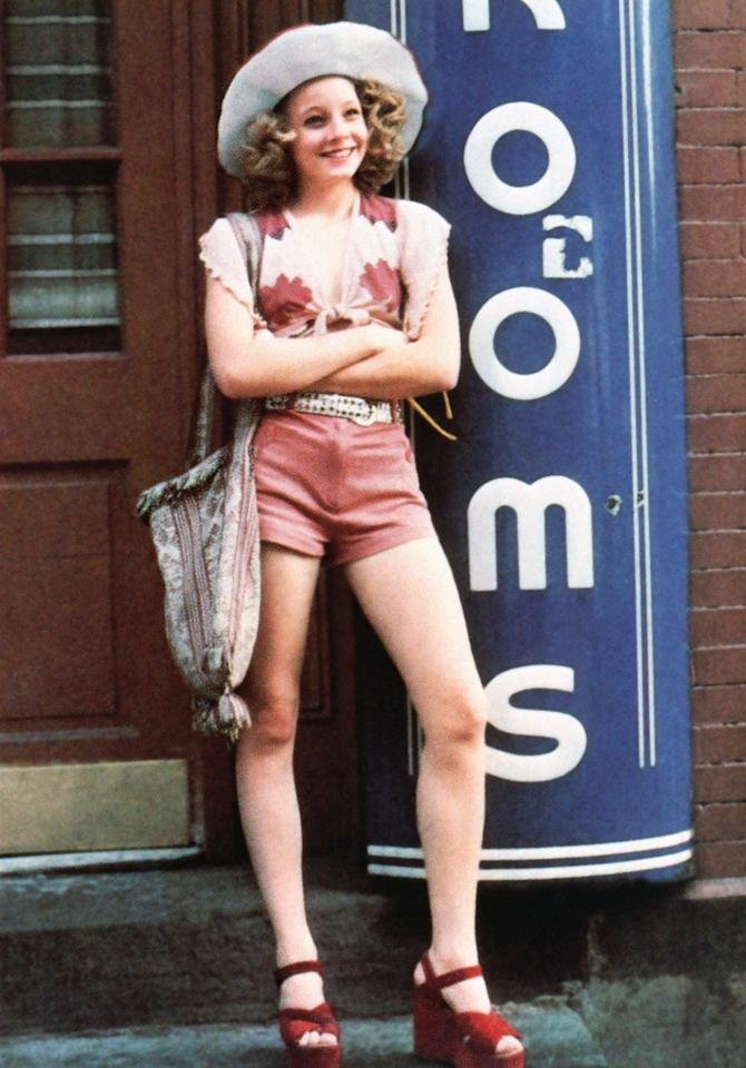 """Jodie Foster - Age 14   """"Taxi Driver"""" (1976)"""
