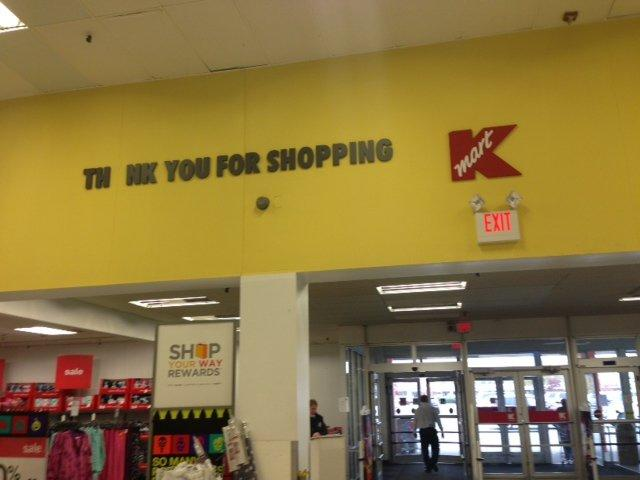Thank you Kmart