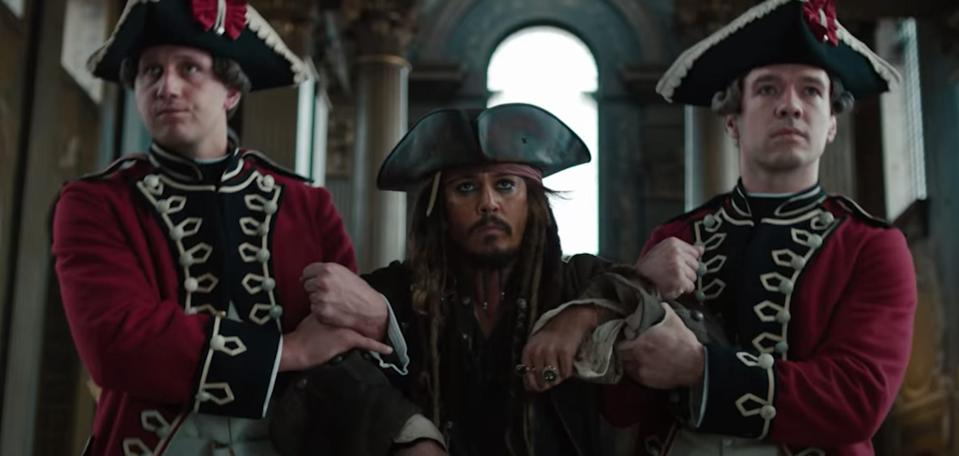 Jack Sparrow sought the fountain of youth in the fourth film.