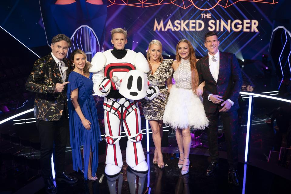 Cody Simpson on The Masked Singer