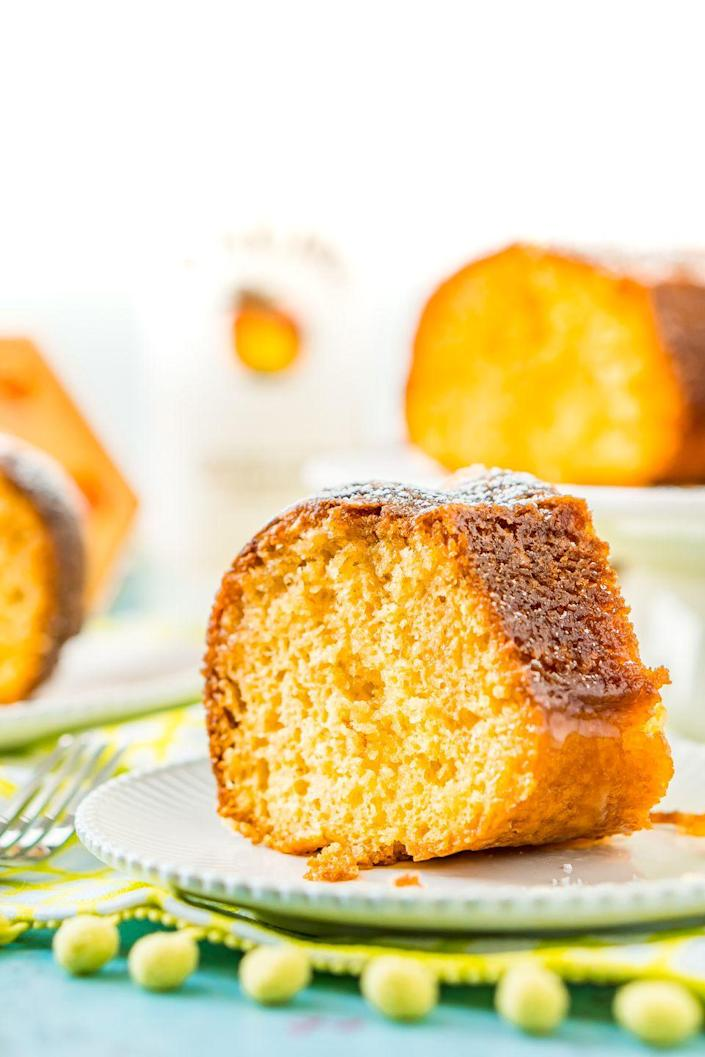 "<p>Does Mom love sweet tropical flavors? Try this delicious coconut rum cake, infused with a buttery glaze.</p><p><strong>Get the recipe at <a href=""https://www.sugarandsoul.co/coconut-rum-cake/"" rel=""nofollow noopener"" target=""_blank"" data-ylk=""slk:Sugar and Soul"" class=""link rapid-noclick-resp"">Sugar and Soul</a>.</strong></p><p><strong><a class=""link rapid-noclick-resp"" href=""https://go.redirectingat.com?id=74968X1596630&url=https%3A%2F%2Fwww.walmart.com%2Fsearch%2F%3Fquery%3Dbundt%2Bcake%2Bpan&sref=https%3A%2F%2Fwww.thepioneerwoman.com%2Ffood-cooking%2Fmeals-menus%2Fg36066375%2Fmothers-day-cakes%2F"" rel=""nofollow noopener"" target=""_blank"" data-ylk=""slk:SHOP BUNDT PANS"">SHOP BUNDT PANS</a></strong><strong><br></strong></p>"