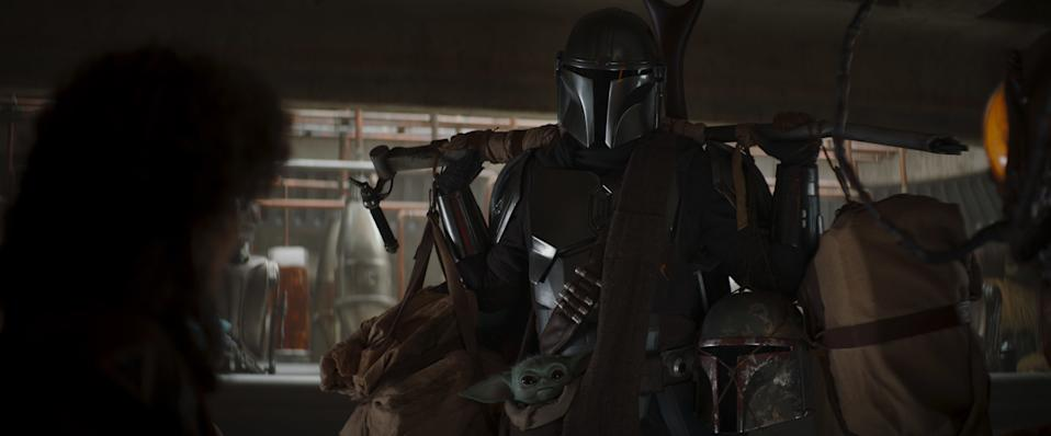 A still from The Mandalorian Chapter Ten. (Disney+)