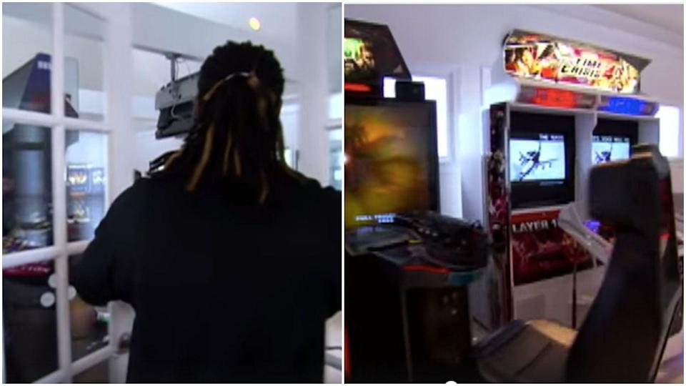 <p>T-Pain has an entire arcade in his house and meanwhile I'm still waiting for my Nintendo Switch to arrive in the mail.</p>