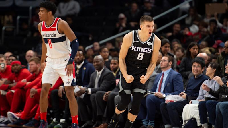 Wizards' offense stifled in second half in loss to Kings