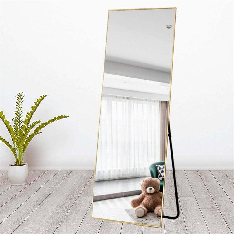 "<h2>Adames Full Length Mirror</h2><br><strong>Discount:</strong> 34% off<br><br><strong>The Hype: </strong>4.7 out of 5 stars and 236 reviews<br><br><strong>Deal Hunters Say: </strong>""I really like this mirror. I was hesitant to order one online and have it arrived broken or be a clown mirror that distorts you. But it's great! And Wayfair sent it very padded and shipped fast. Being on sale was even better!""<br><br><em>Shop </em><strong><em><a href=""https://fave.co/3luoy2T"" rel=""nofollow noopener"" target=""_blank"" data-ylk=""slk:Mercury Row"" class=""link rapid-noclick-resp"">Mercury Row</a></em></strong><br><br><strong>Mercury Row</strong> Adames Modern & Contemporary Full Length Mirror, $, available at <a href=""https://go.skimresources.com/?id=30283X879131&url=https%3A%2F%2Ffave.co%2F2He36Ae"" rel=""nofollow noopener"" target=""_blank"" data-ylk=""slk:Wayfair"" class=""link rapid-noclick-resp"">Wayfair</a>"