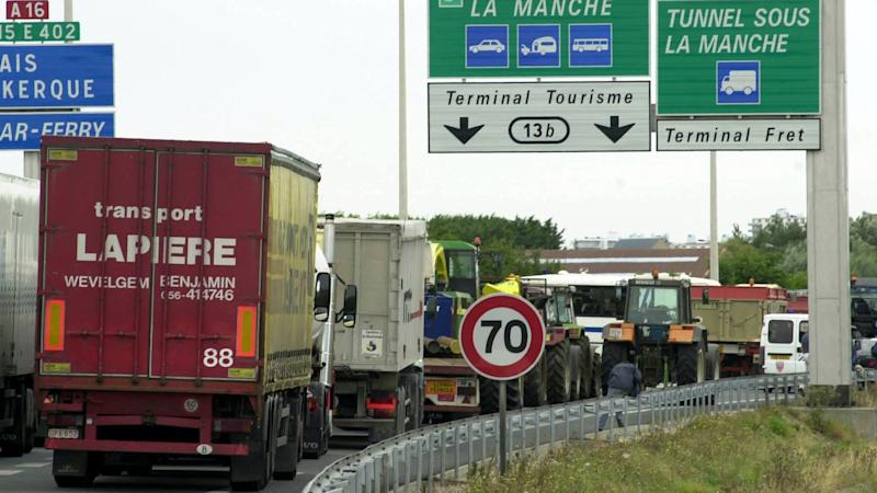 Lorry driver arrested after £1.5m of drugs seized at Channel Tunnel terminal