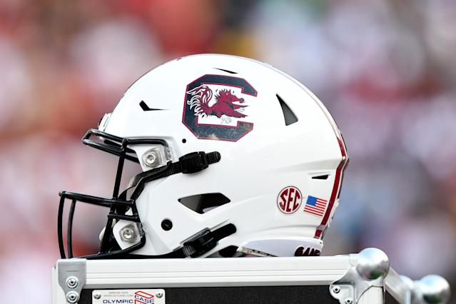 Will South Carolina end up with a top-20 recruiting class? (Photo by Dannie Walls/Icon Sportswire via Getty Images)