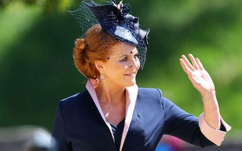 The Duchess of York arrives at St George's Chapel at Windsor Castle for the wedding of Meghan Markle and Prince Harry - Credit: Gareth Fuller/PA