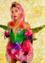 "<p>As a ""Halloween fairy.""</p>"