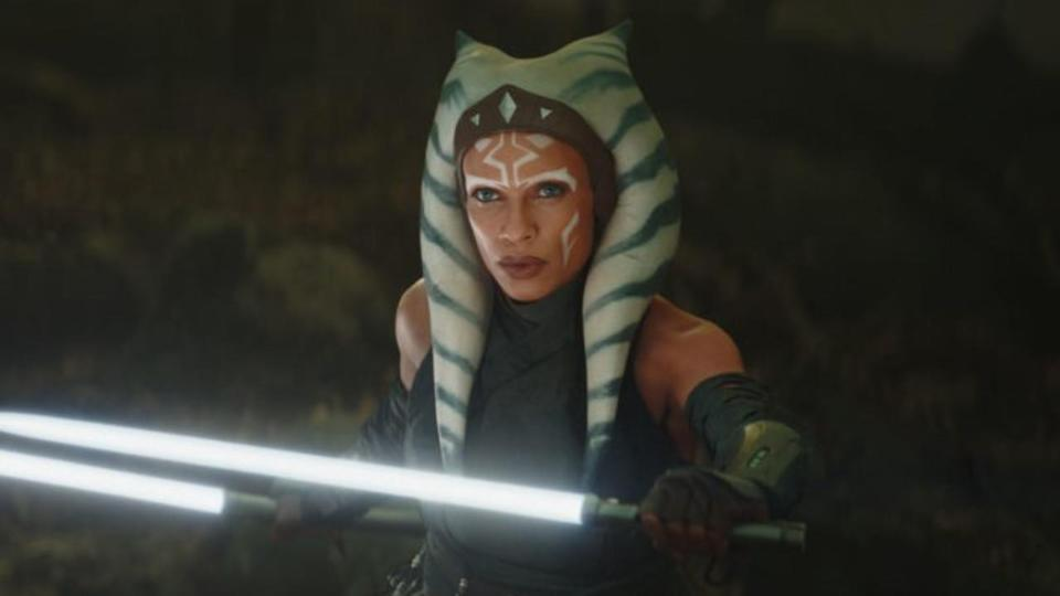 <p> <strong>Release date:</strong>&#xA0;Unknown </p> <p> Having stunned in The Mandalorian, Rosario Dawson&apos;s live-action version of&#xA0;Ahsoka Tano&#xA0;is getting a spin-off series. Written by Dave Filoni and with Jon Favreau acting as co-executive producer, the series will likely continue Ahsoka&apos;s search for&#xA0;Thrawn. However, plot specifics are being kept to a minimum, though there was confirmation the series will take place during&#xA0;The Mandalorian timeline. </p>