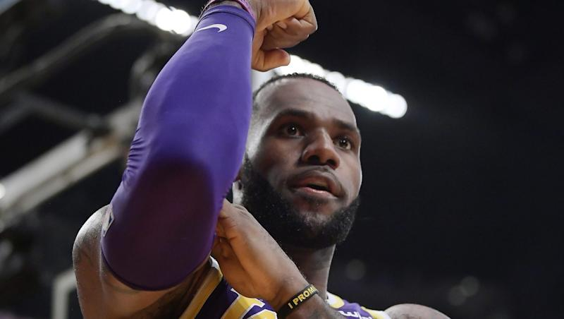 27cf29ca8799 Three Things to Know  LeBron James passes idol Michael Jordan on all-time  scoring list