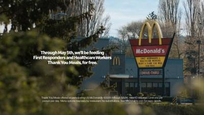 "McDonald's Celebrates Healthcare Workers and First Responders with Free ""Thank You Meals"""