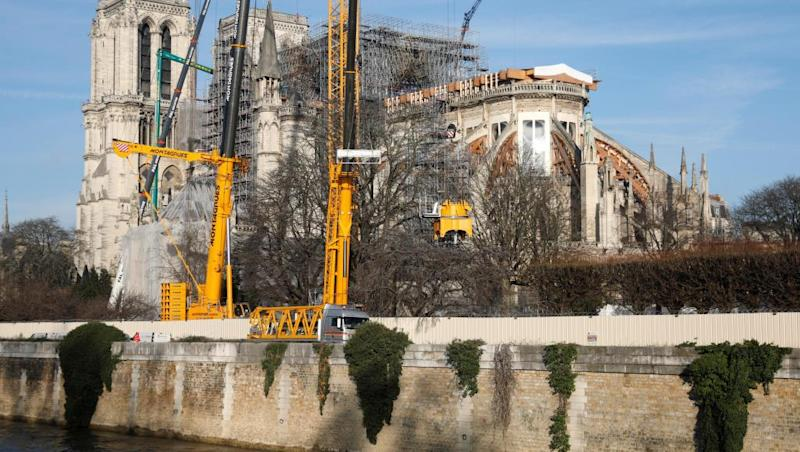 Paris's Notre-Dame Cathedral 'still in state of peril'