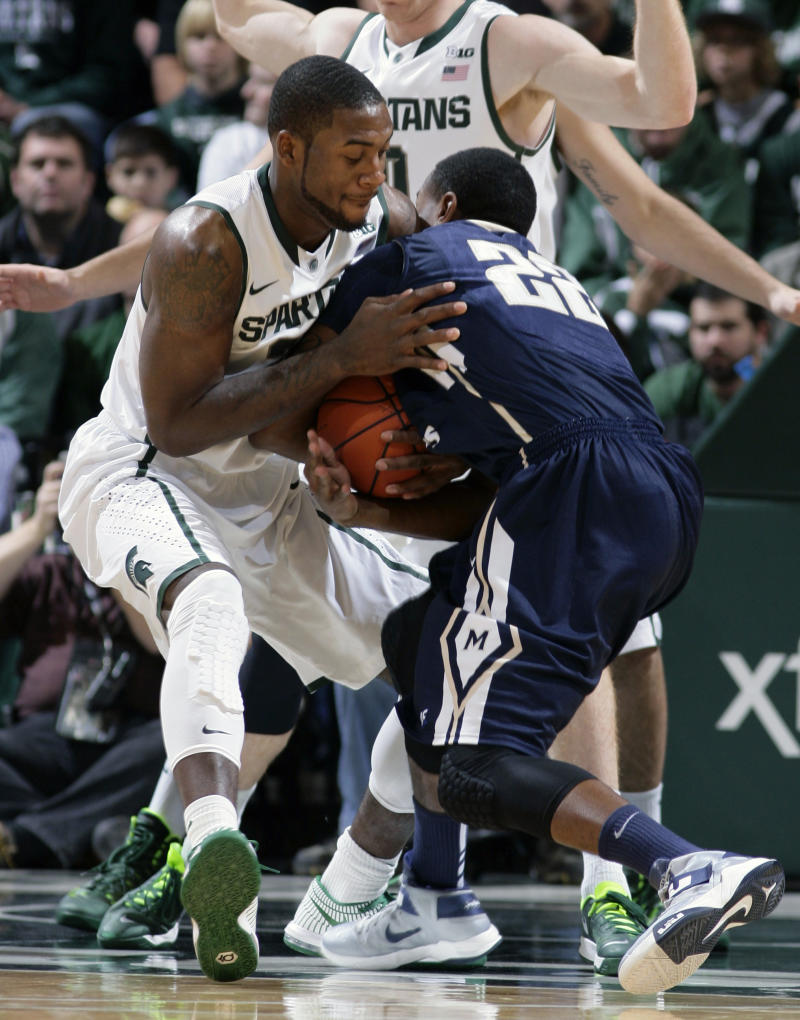 Appling helps No. 1 MSU top Mount St. Mary's 98-65