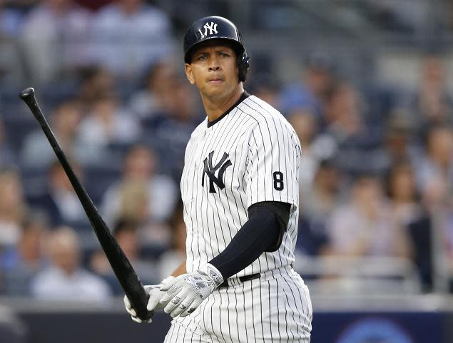 Alex Rodriguez has announced his retirement and will play one final game for the Yankees on Friday. (AP)